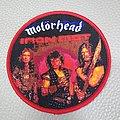 Motorhead - Iron Fist - Woven Round Patch