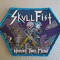 Skull Fist 'Heavier Than Metal' patch