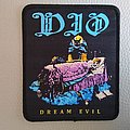 DIO - Dream Evil woven patch
