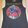 """Iron Maiden """" Eddie bass"""" t-shirt / vest  size - M"""