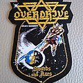 "Overdrive - Patch - Overdrive - ""Swords And Axes"" Official Woven Patch"