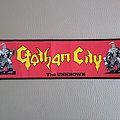 Gotham City - The Unknown  Patch / Stripe  24 x 7 cm