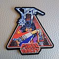 "Victim ""Power Hungry"" Official Woven Patch"