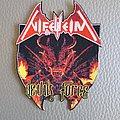 NIFELHEIM - Devils Force [Laser Cut-Off] -- Woven Patch