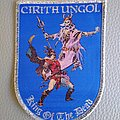 Cirith Ungol - Patch -  Cirith Ungol -  King Of The Dead   Woven Patch