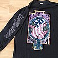 Vintage 1995 The Black Crowes - Amorica or Bust Tour - Long Sleeve Shirt  size -XL