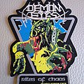 Demon Eyes - Rites of Chaos  - Official Woven Patches