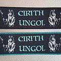 Cirith Ungol - Patch - CIRITH UNGOL Patch / Stripe  (Black Border & Blue Border) Size : 6 cm x 17 cm