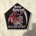 Grim Reaper - Patch - Grim Reaper - Rock You To Hell  woven patch
