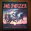 Jag Panzer woven patch (Ample Destruction)
