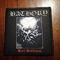 Bathory woven patch (Hail Sathanas)