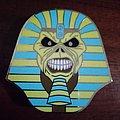 Iron Maiden Pharaoh Eddie enamel pin Pin / Badge