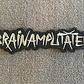 Brainamputated Embroidered Logo Patch