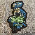 Blood Incantation - Hidden History Of The Human Race Official Woven Shaped Patch