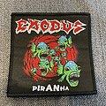 Exodus - Piranha Woven Patch