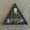 Xentrix - For Whose Advantage? Woven Triangle Patch