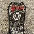 Obsession - Savage Rule Woven Coffin Patch