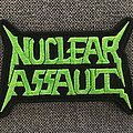 Nuclear Assault Embroidered Logo Patch
