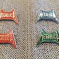 Metallica Logo Vlntage Pins
