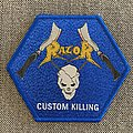 Razor - Patch - Razor - Custom Killing Official Woven Hexagon Patch