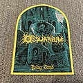 Ossuarium - Living Tomb Official Woven Patch