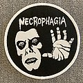 Necrophagia - Patch - Necrophagia- The Exorcist Official Woven Circle Patch