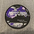 Minotaur - Power Of Darkness Official Woven Circle Patch