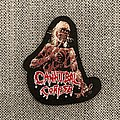 Cannibal Corpse - Patch - Cannibal Corpse - Eaten Back To Life Mini Woven Patch