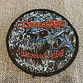 Desecrator - Subconscious Release Woven Circle Patch