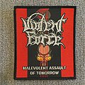 Violent Force - Malevolent Assault Of Tomorrow Woven Patch
