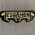 Testament - Patch - Testament Original Embroidered Logo Patch