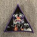 Dark Angel - Patch - Dark Angel - Darkness Descends Woven Triangle Patch