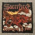 Sacrifice - Patch - Sacrifice - Torment In Fire Woven Patch