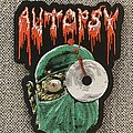 Autopsy - Severed Survival Woven Shaped Patch