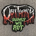 Obituary - Patch - Obituary - Slowly We Rot Embroidered Patch