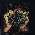 Megadeth World Tour 2017 Tee TShirt or Longsleeve