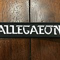 Allegaeon official logo strip Patch
