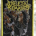 Skeletal Remains Devouring Mortality Bootleg Patch