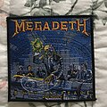 Megadeth - Patch - Megadeth - Rust in Peace official patch