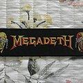 Megadeth - Patch - Megadeth Vic superstrip