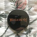 Megadeth - Pin / Badge - Megadeth official oldschool button