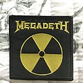 Megadeth - Patch - Megadeth - Small Radioactive patch