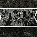 Siege Of Power - Patch - Siege of Power - Warning Blast white border