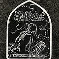 Convulse - Patch - Convulse - Resuscitation of Evilness white border