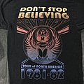 Journey Don't Stop Believing Tour of North America 1981-82 Tee TShirt or Longsleeve