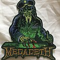Megadeth Rust in Peace Die Cut Bootleg Patch