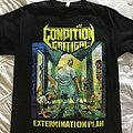 Condition: Critical Extermination Plan TShirt or Longsleeve