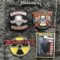 Megadeth - Patch - Megadeth C&D/Global Merchandising embroidered patches