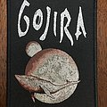 Gojira From Mars to Sirius bootleg black border Patch