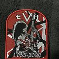 Van Halen - Patch - Eddie Van Halen tribute patch